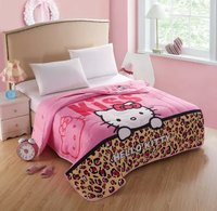 China suppliers new design heart pattern polyester summer quilt