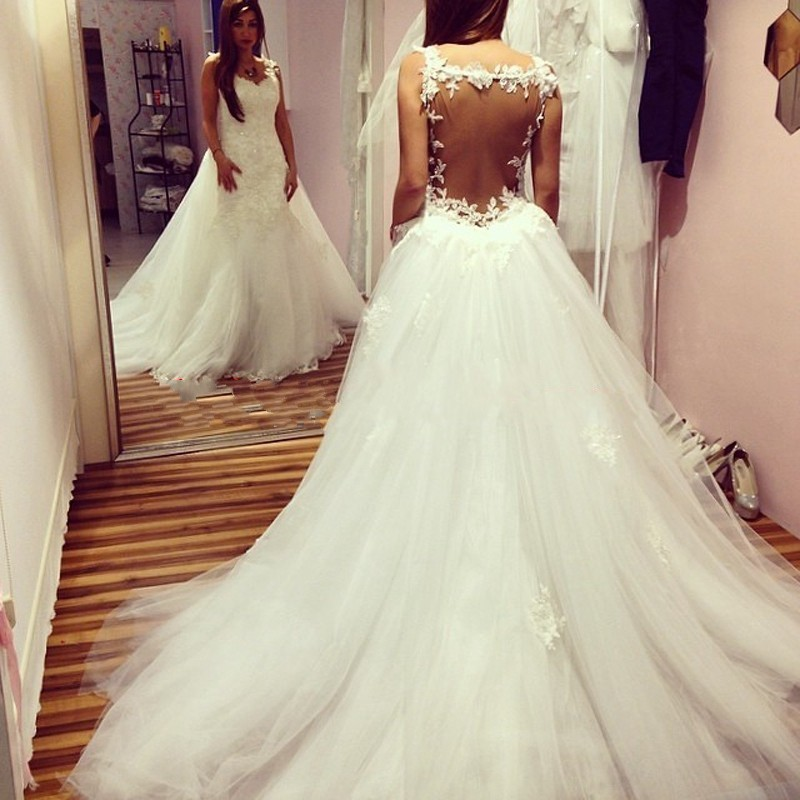 Wedding Dresses With Detachable Tail: Popular Detachable Wedding Dress-Buy Cheap Detachable