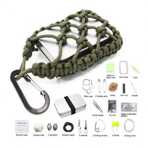 tactical camping hiking survival kit for outdoor