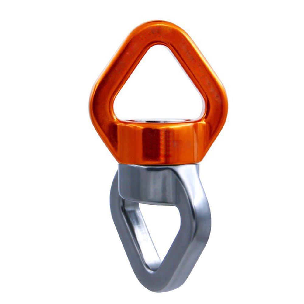 Rede 30kN Zinco Banhado A Corda de Segurança Giratória Conector de Rotação Dispositivo Giratório para a Escalada, Swing Set, Dança Aérea Mosquetão