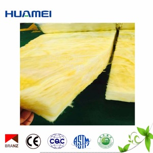 Waterproof insulation materials glass wool for refrigerator
