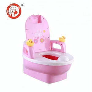 Plastic kids toilet seat baby potty training chair