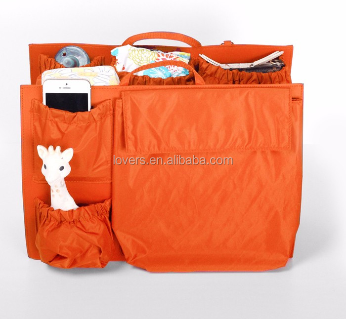 High Quality Stylish Moms Diaper Insert Baby Bag Organizer Tote