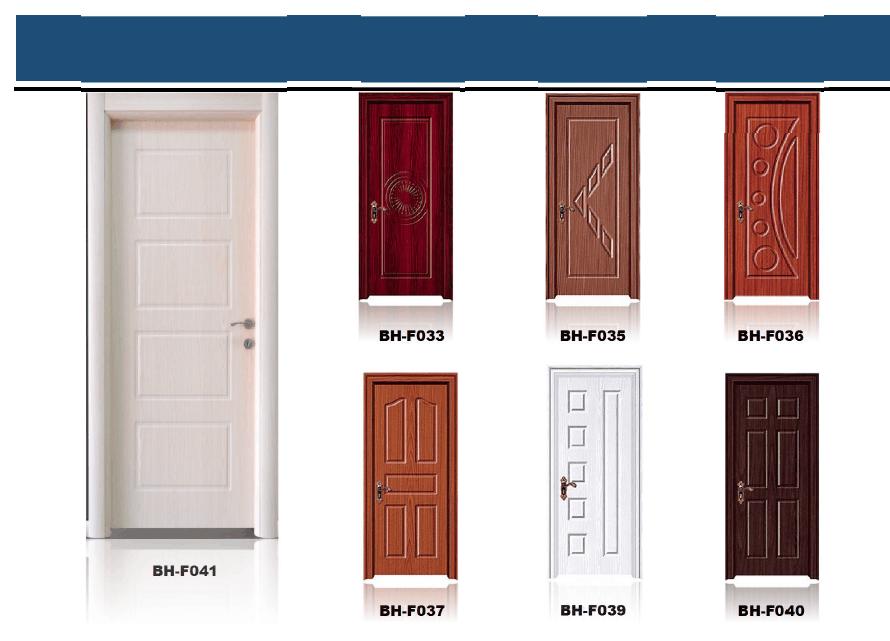 2016 alibaba new types interior wood door cheap pvc door for Cheap pvc door
