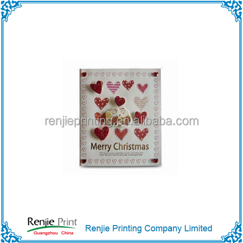 Hot Sale 3D Birthday Cards/ Christmas Cards/ Greeting Cards