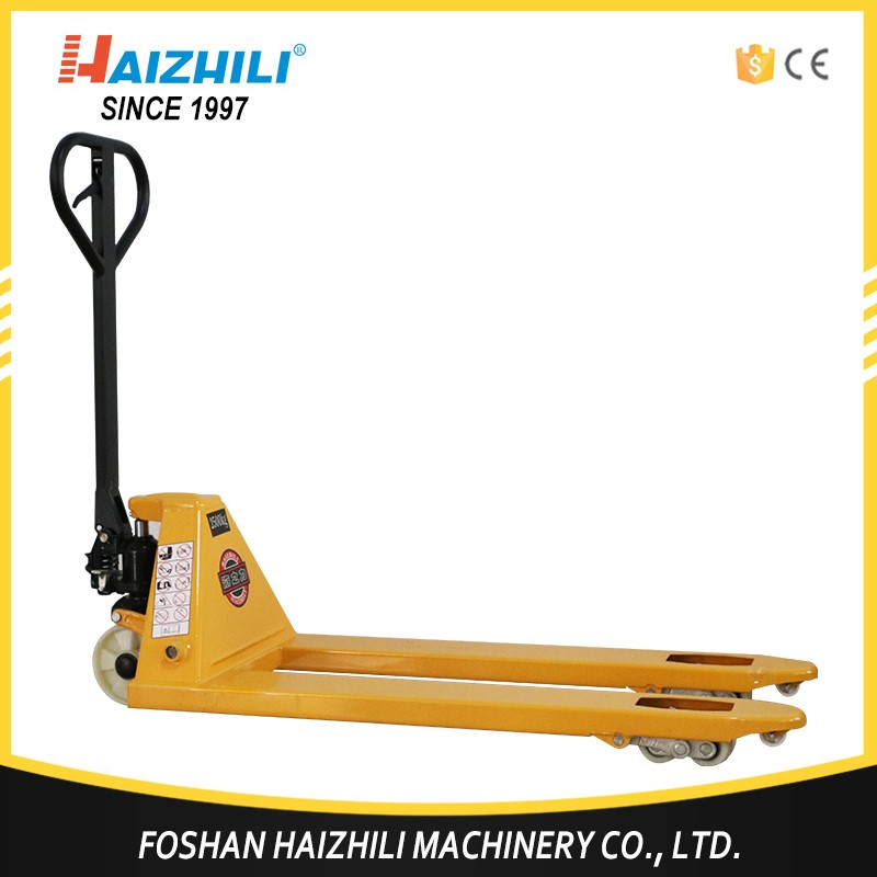 New design material handling tools hand pallet truck price olift 2.5 ton pallet truck