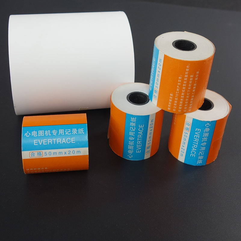 EKG termal kağıt 50mm * 20 m 4 rolls/lot