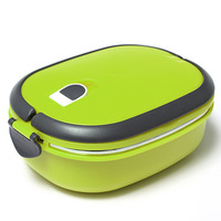 China suppliers Stainless steel thermal insulated stackable square /round shape lunch box