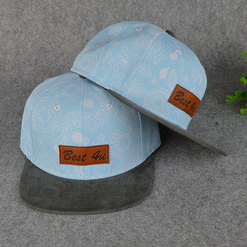 Custom Leather Patch Logo Snapback Hats Wholesale - Buy Leather ... 087313140ec