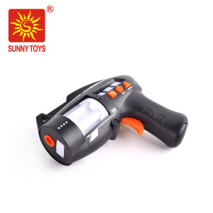 fashion popular electronic laser tag shooting game light up realistic toy guns with sound
