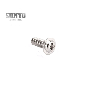Hot sale Stainless steel Round Washer Head Phillips Pan Head Flat Tail Self tapping Screw