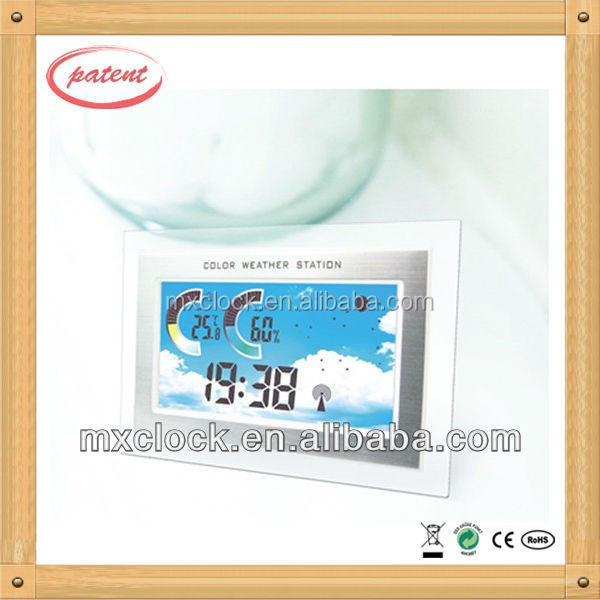 YD8206B Family Weather Forecast with Clear LCD Display