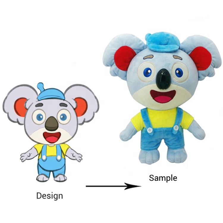 OEM stuffed soft toys custom plush toys