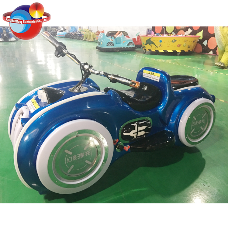Amusement Square Ghost Motor Electric Kiddie Ride Motorcycles, Kids Electric Motorcycle