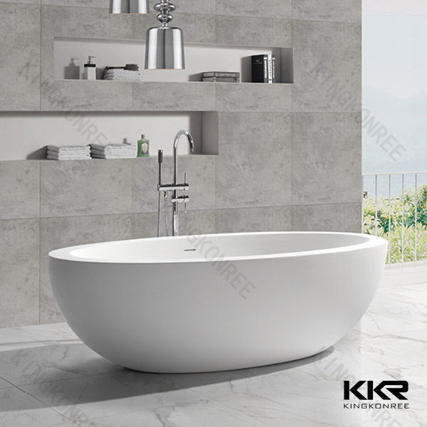 Japanese Soaking Tub Solid Surface Freestanding Bathtub - Buy ...
