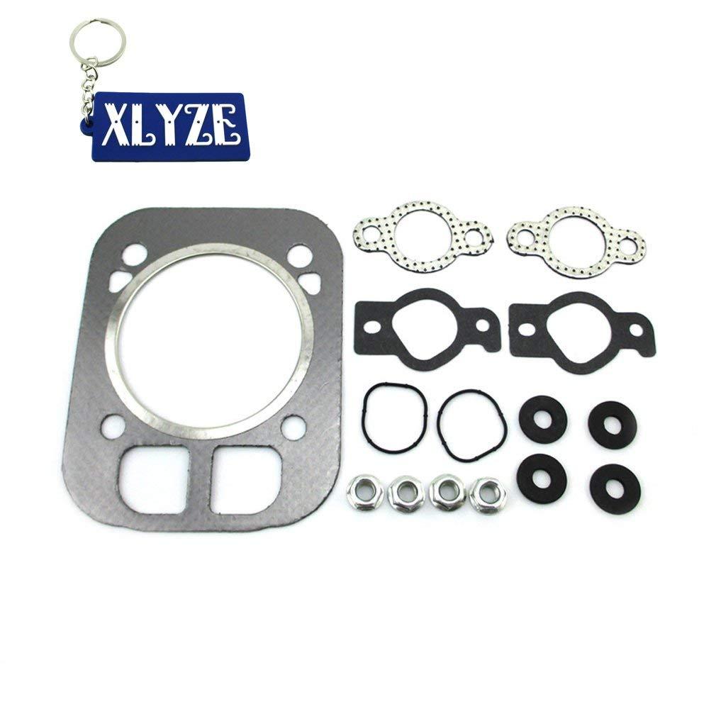 XLYZE Head Gasket For Kohler 2484104S 24-841-04-S 24-041-03S CH25 CV25 Engine Cylinder