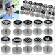 316L Stainless Steel Round Plain men ear studs men earrings fake ear studs