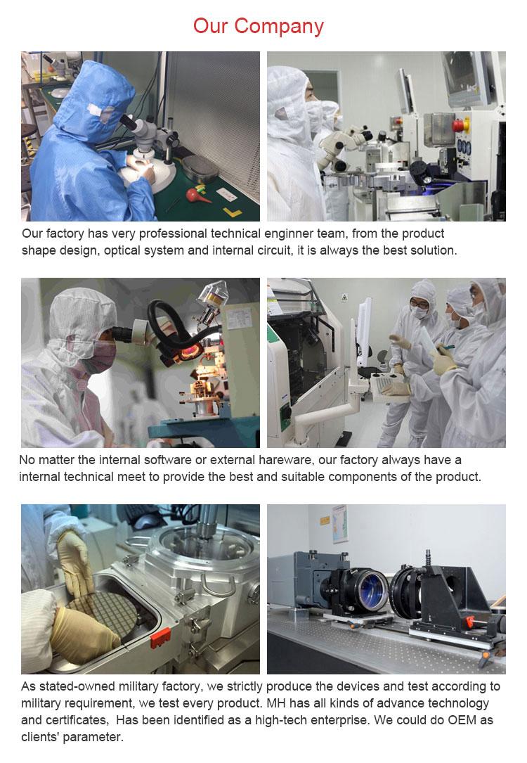 Erweiterte russische neue thermische vorstellung infrarot waffe anblick
