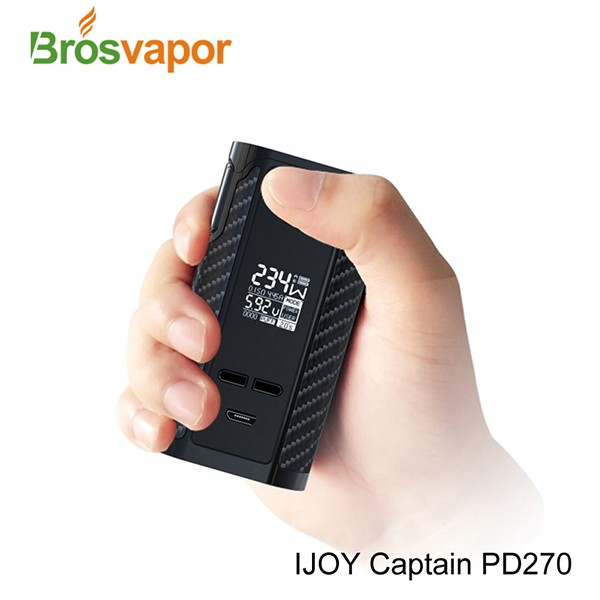 Original Vape 6000mAh & 234W IJOY Captain PD270 TC BOX MOD in stock