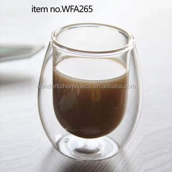 Double Layer Coffee Cup For Vending Morden Turkish Cups