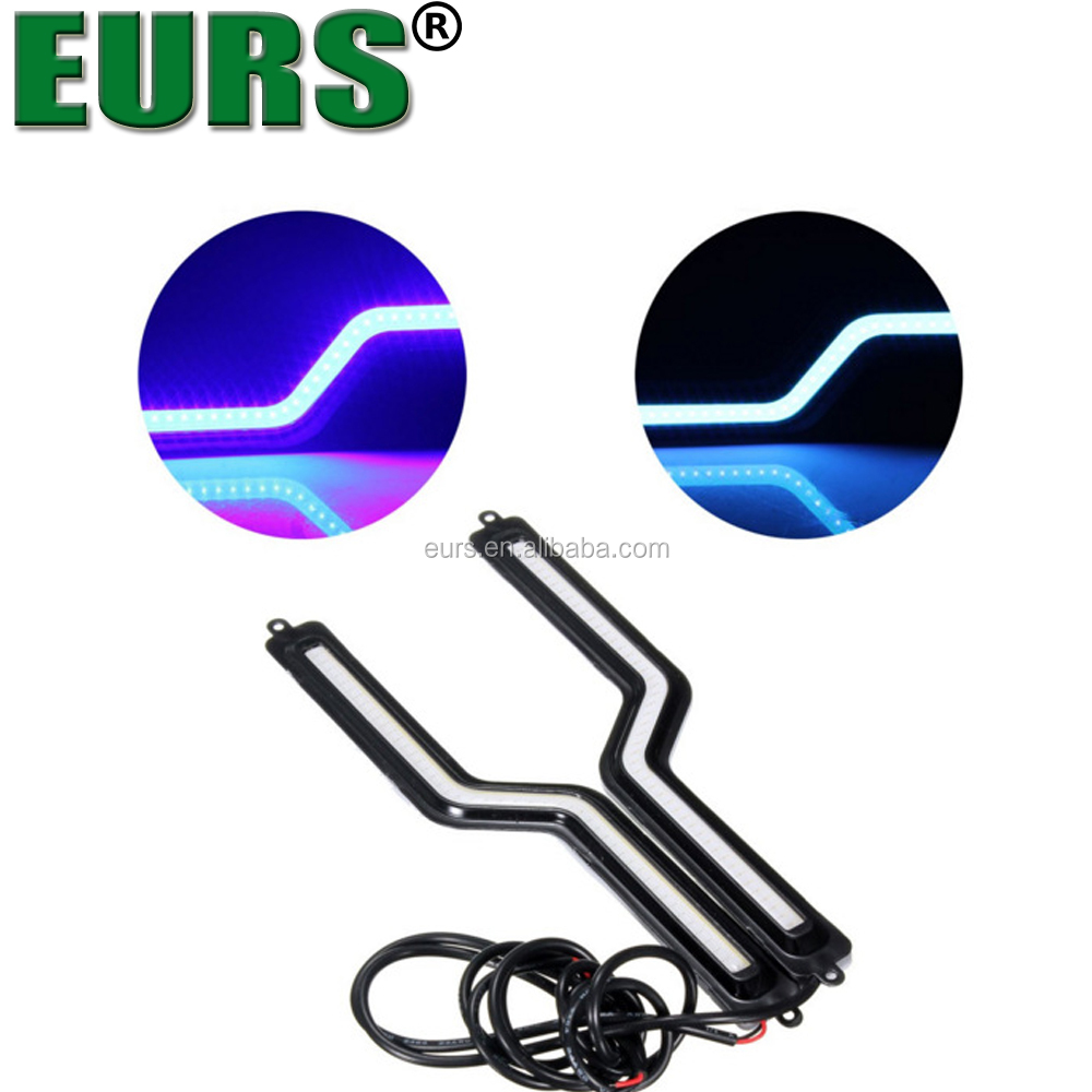 LED Kit Z 96W H7 10000K Blue Two Bulbs Light DRL Daytime Replacement Upgrade OE