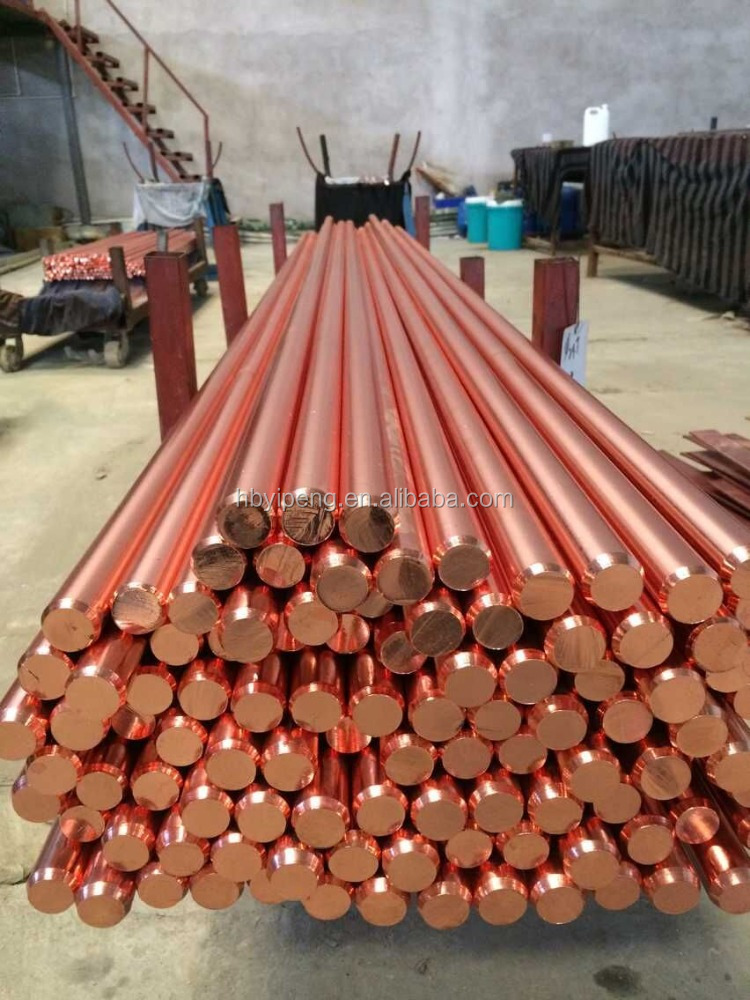 High Quality Copper Clad Steel Earthing Rod/Copper Bonded Earth Rod/Ground rod