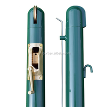 Professionele tennis netto post, tennis stand, tennis aluminium post/pole