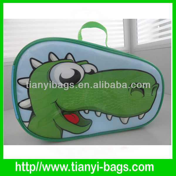 Kids cute cartoon ice bags lunch bag insulated for children