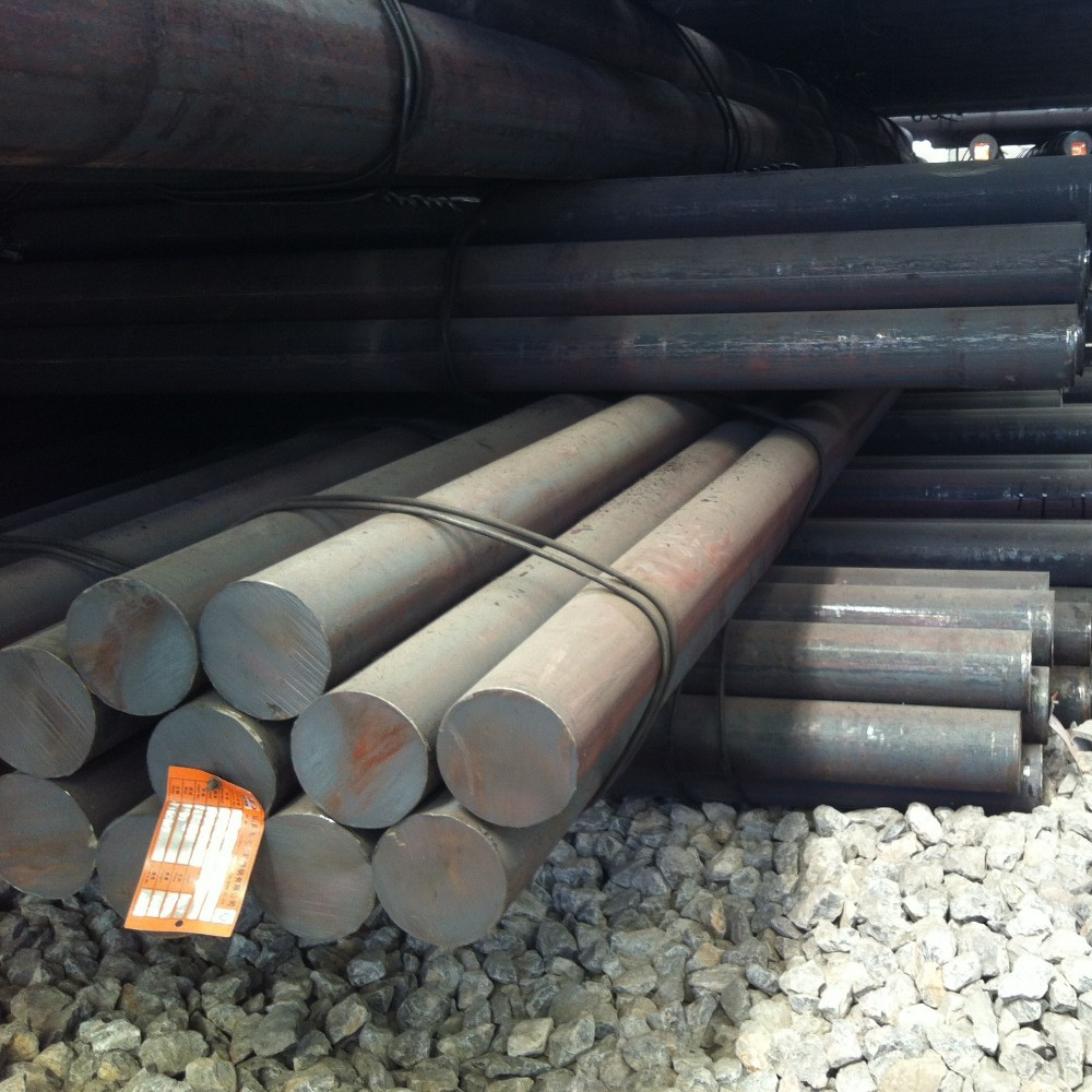 C45 GCr15 42crmo4 alloy raw material steel round bar