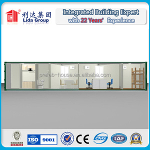 Direct factory price Flat packed 20ft Q235 steel Floating Container House