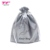 Luxury Smooth Custom Logo Drawstring Satin Gift Packaging Bag For Jewelry Watch Bracelet
