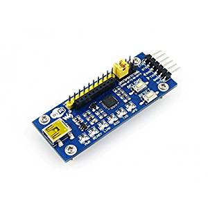 Angelelec DIY Open Sources Sensors, Wifi400, It is a Mother Board Designed for Wifi Module Wifi-LPT100, Indicators: Power, Ready, Link, Rxd, Txd, Wps, Work as a USB to Uart Module by Configuration