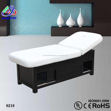 folding massage facial bed&cheap beds for sale&electric massage table with storage (KM-8218)