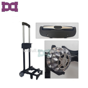 Outer 4 wheels retractable detachable luggage handle