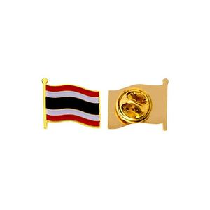 wholesale bulk order national country flag shaped thailand lapel pin