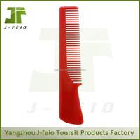 Professional antistatic carbon fiber salon cutting hair use plastic comb