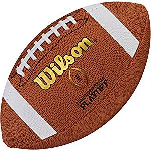 Wilson College Football Playoff Replica Official Football, Size 9