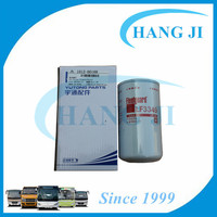 Factory price engine oil lubricants for Yutong oil filter element