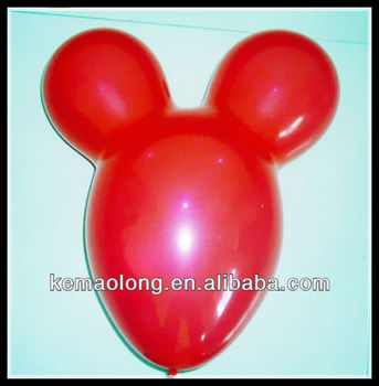 Mickey Mouse Shaped Latex Balloons