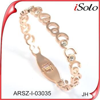 Dubai Gold Bangles Designer Jewelry Replica Diamond Gold Covering