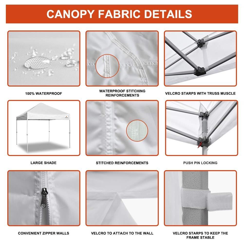 팝 업 자 윤곽 야외 접는 알루미늄 캐노피 캠핑 metal 돔 차 텐트 정원 전망대 3x3