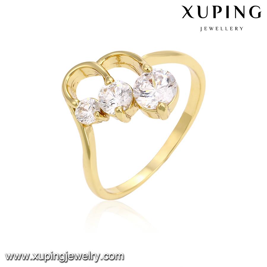 14227 Xuping Famous Jewelry Pakistani Gold Ring Designs Big Stone ...