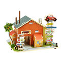 New Building 3D Puzzle Toys Children s Educational Toys Wooden Motel Jigsaw F132 High Quality Free