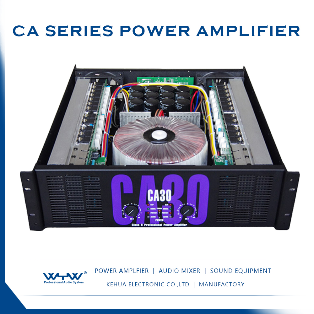 New style CA-30 professional hgih power amplifier