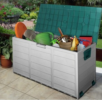 Outside Plastic Storage Bo Units Container