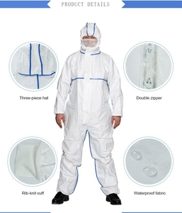 Free Sample Cleanroom Antistatic Garments Factory Coverall