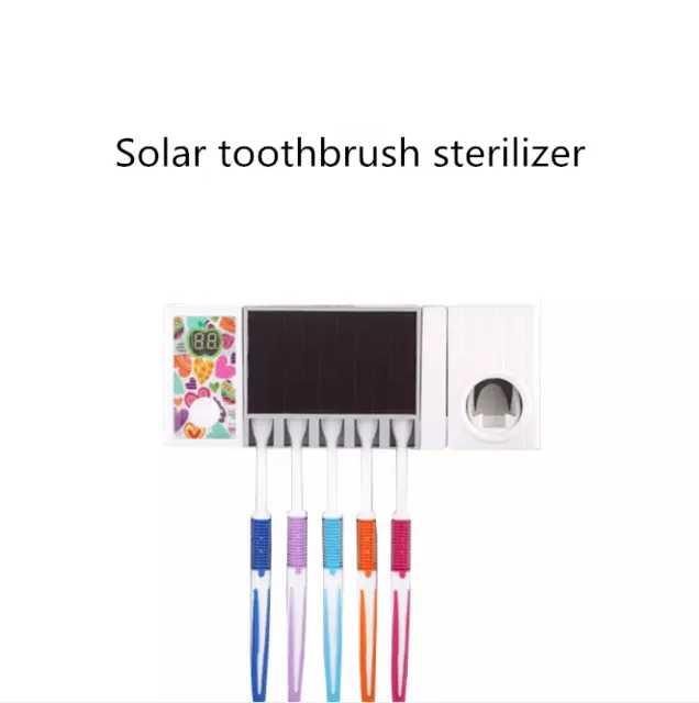 Tandenborstelhouder Batterij Aangedreven USB Charger UV Tandenborstel Sanitizer
