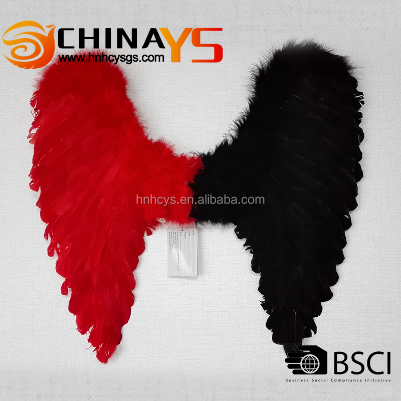 BSCI audit unique double color wholesale fairy wings YS8016RB fashionable products on promotion