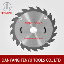 Tct circular saw blade for cutting aluminium