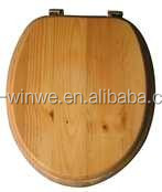 Wooden Soft Close Toilet Seat